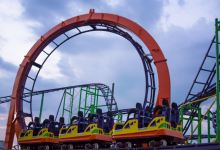Keansburg Amusement Park New Rollercoaster Looping Star