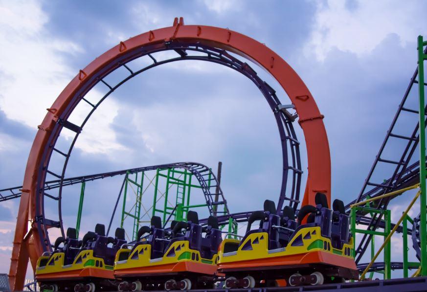 Keansburg Amusement Park New Rollercoaster Looping Star