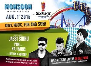 Six Flags Monsoon Fest
