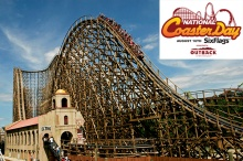 Six Flags NJ National Coaster Day