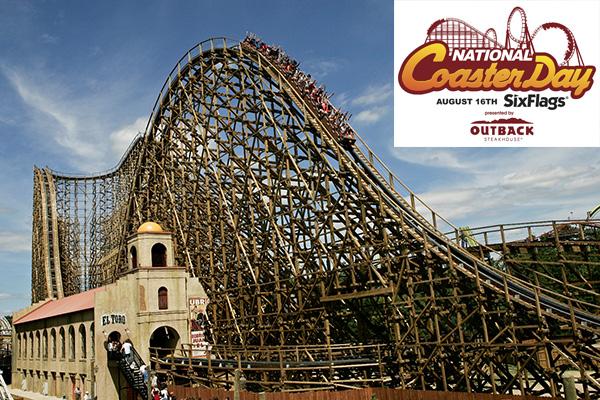 Six Flags NJ National Coaster Day