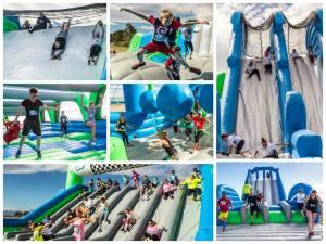 Six Flags NJ Inflatable Race 5K