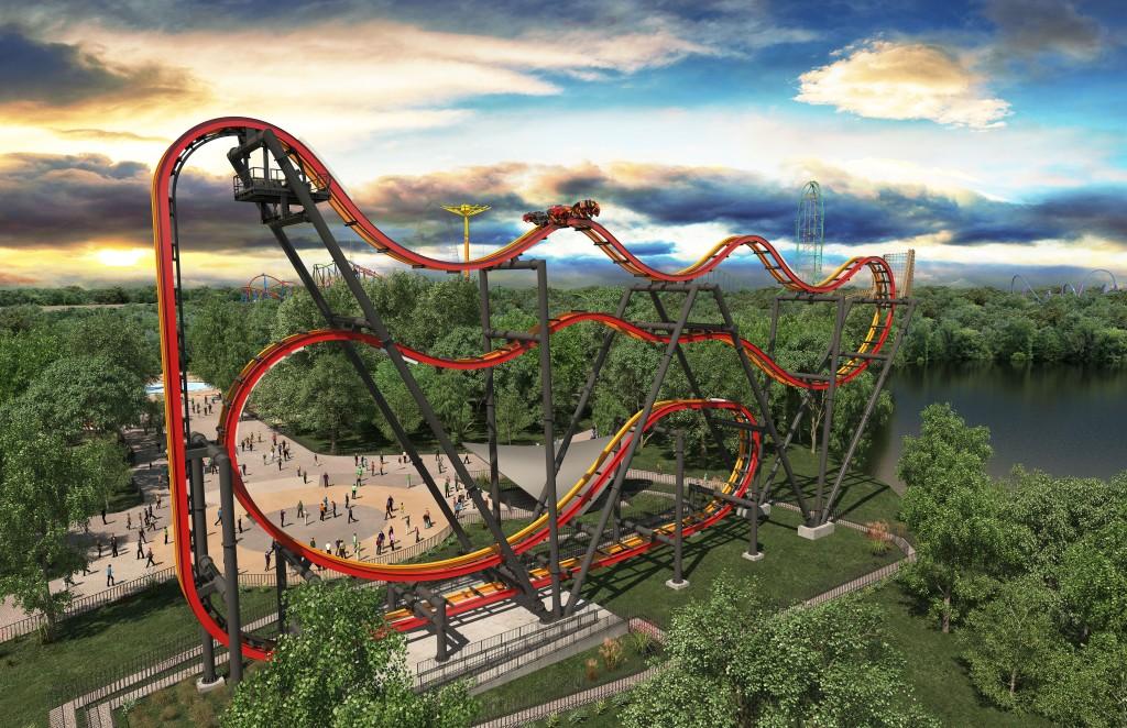 Six Flags NJ New 2016 Rollercoaster