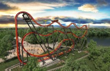 Six Flags NJ New 2016 Rollercoaster