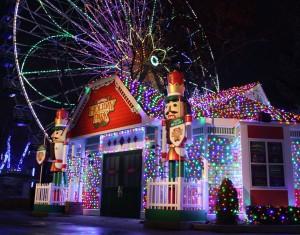 Six Flags Winter Holiday Festival NJ