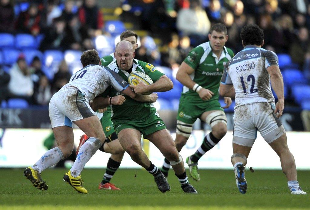 Rugby London Irish Saracens at Red Bull Arena