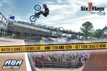 Six Flags NJ Action Sports World Tour