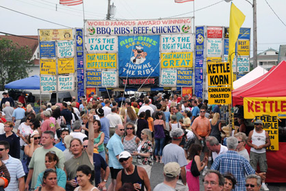 Jersey Shore 2016 Summer Festivals