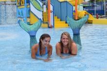 Keansburg Runaway Rapids Water Park Mermaids
