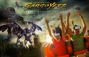 Six Flags NJ VR experience Rage of the Gargoyles