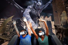 Six Flags Great Adventure interactive coaster Oculus VR
