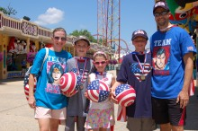 Six Flags Great Adventure Summer of Games