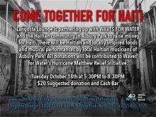 Langosta Asbury Park Haiti Fundraiser
