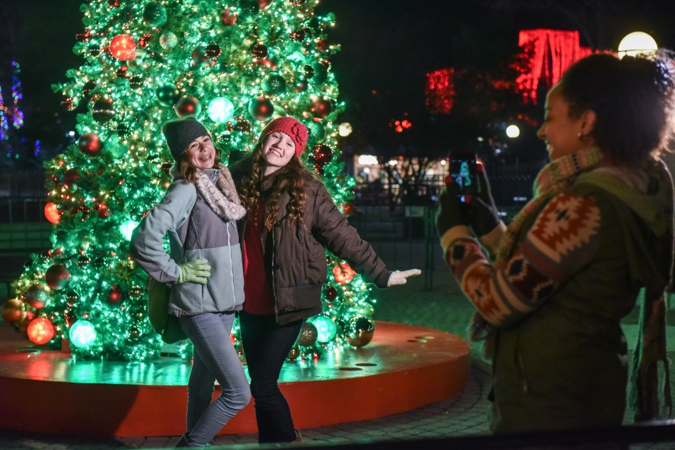 Six Flags NJ Christmas Festival