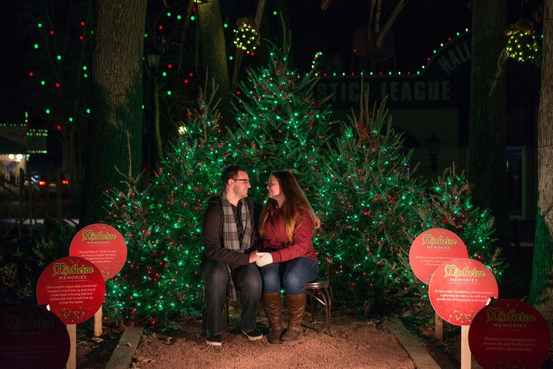 Six Flags Mistletoe Kiss Guiness World Record