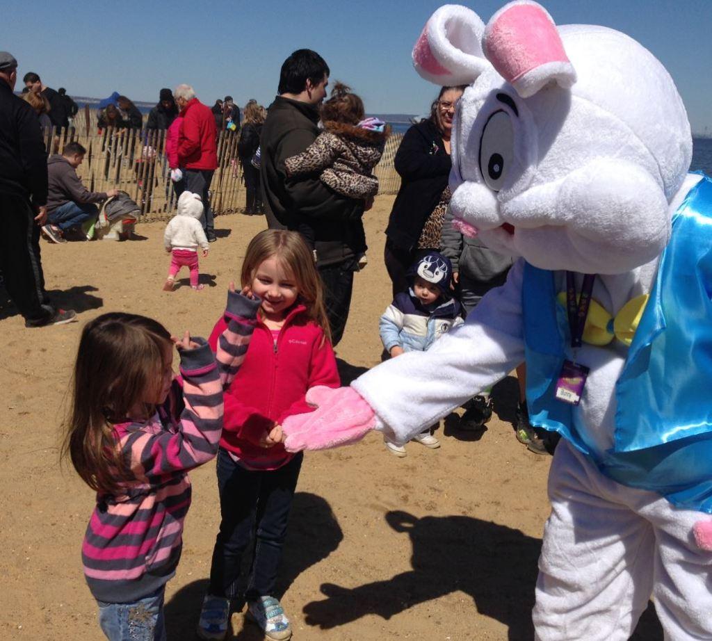 Keansburg Amusements Park Easter Egg Hunt