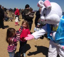 Keansburg Amusements Park Easter Egg Hunt