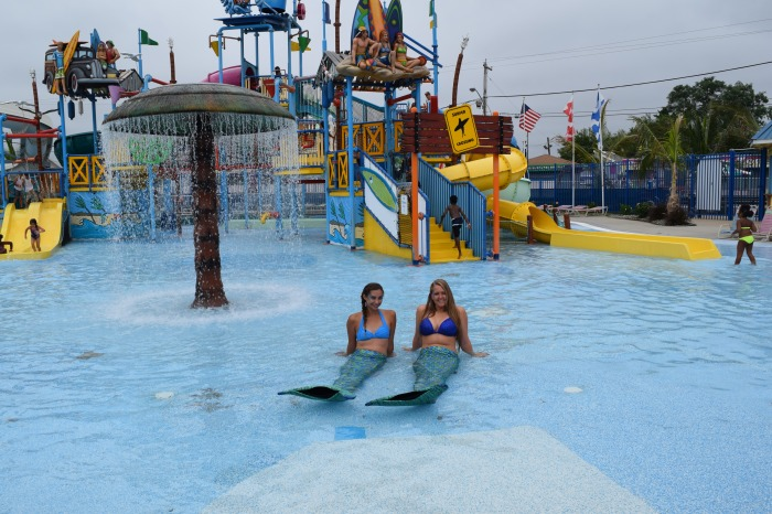 Keansburg Runaway Rapids Swim with a Mermaid