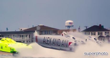 Point Pleasant Powerboat Racing Miss Geico Alex and Ani