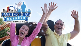 Father's Day Events Six Flags New Jersey