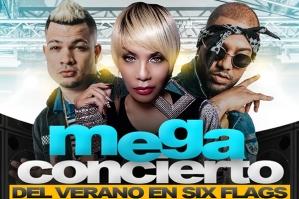 Six Flags NJ Mega Concierto Del Verano
