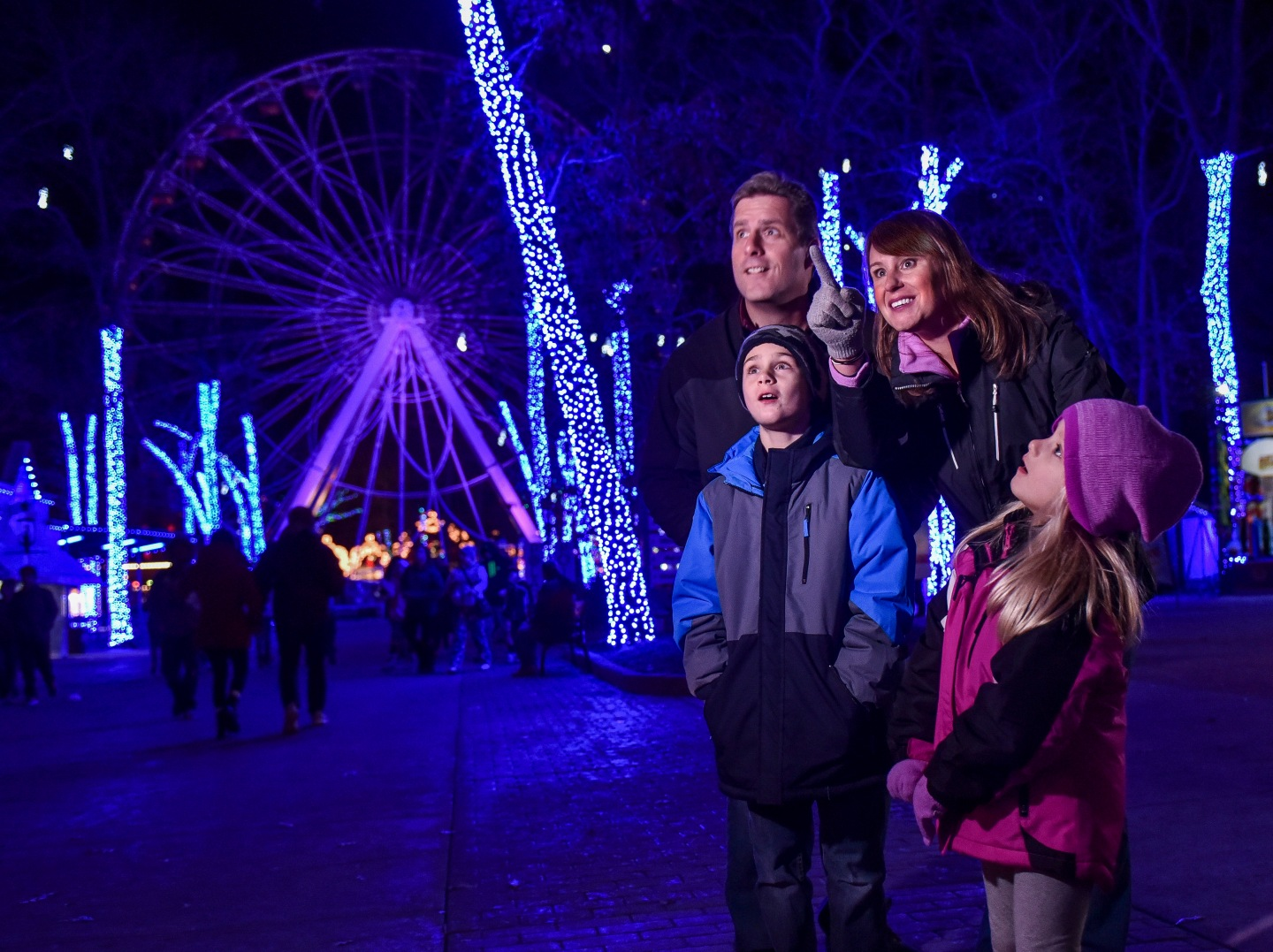 Six Flags Great Adventure Christmas Event