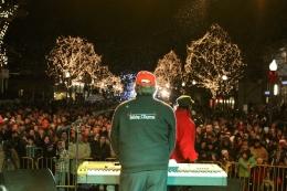 Red Bank Holiday Express Christmas Lightning