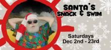 Swim with Santa at Sahara's Sams Water Park NJ