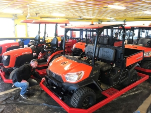 Diggerland NJ Kubota tractors new ride