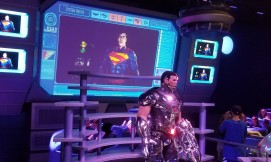 Six Flags Justice League Metropolis ride review