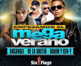 Six Flags Mega Concierto Del Verano 2018