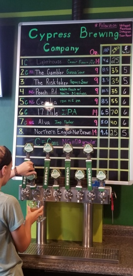 NJ Craft Beer Reviews: Cypress Brewing