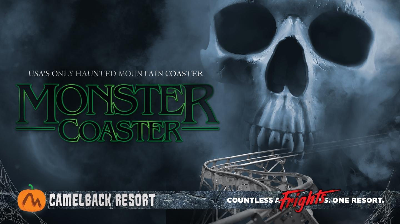 Camelback Halloween Monster Coaster