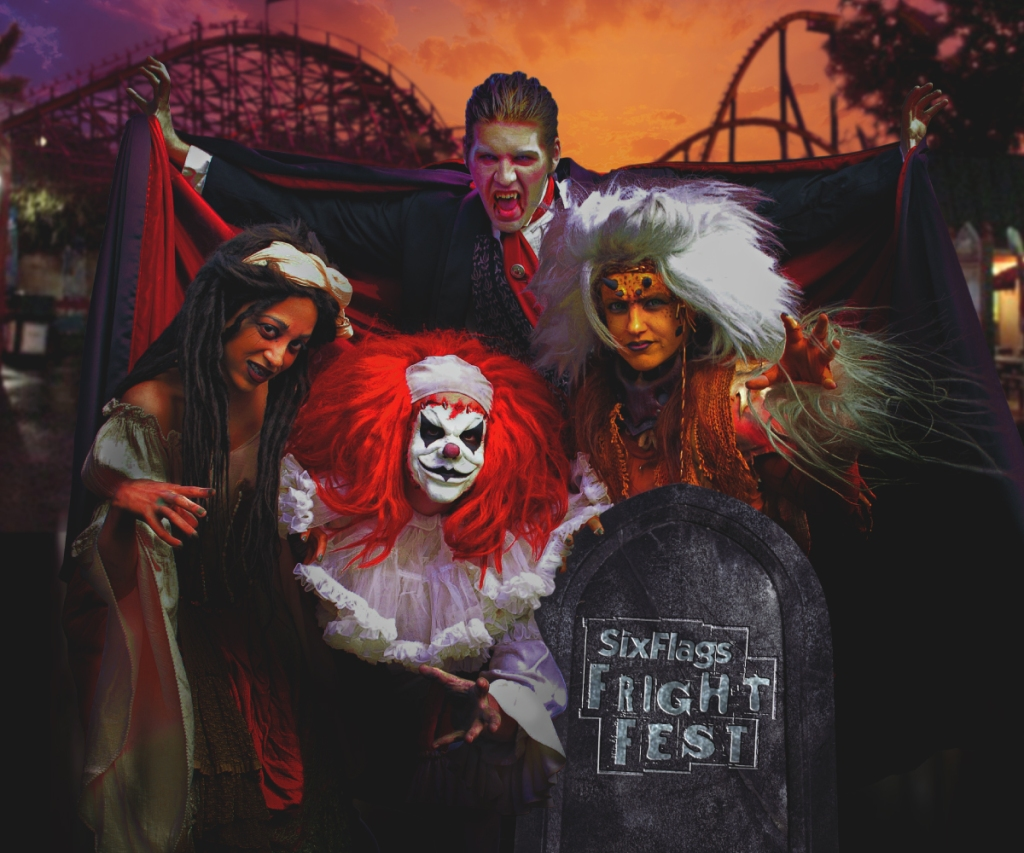 Six Flags Fright Fest Fright by Night