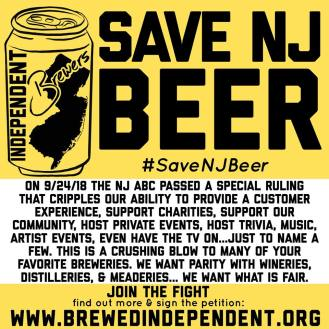 Save NJ Craft Beer