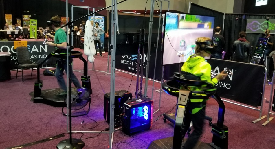 Gameacon Saber VR Omni Treadmill