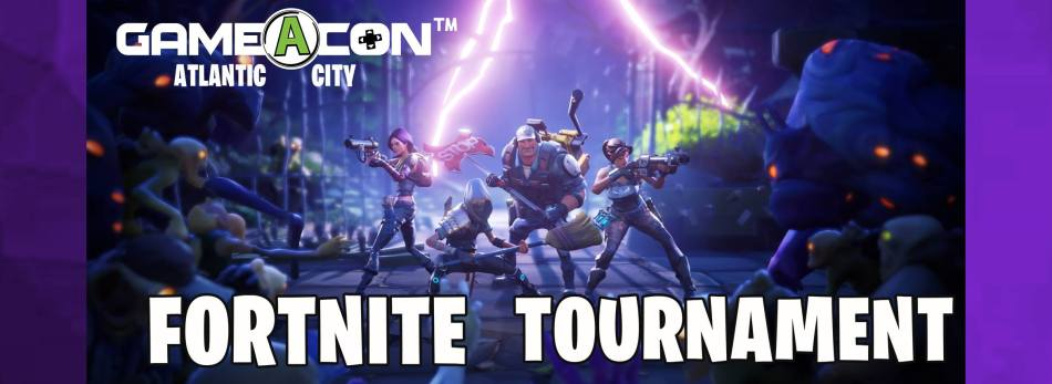 Gameacon Atlantic City New Jersey Fortnite