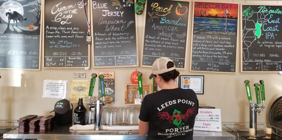 Garden State Beer Atlantic City craft beer review