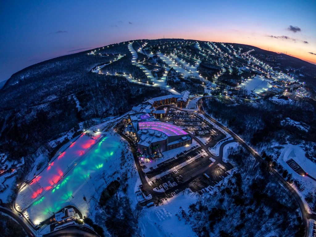Camelback PA Ski Mountain Attractions