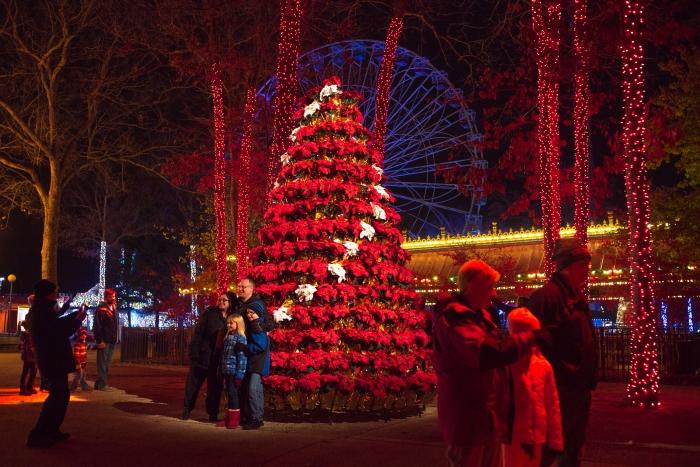 Six Flags Great Adventure Christmas Festival