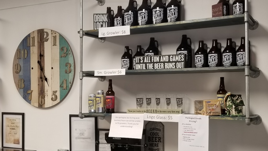 Frye Brewing Point Pleasant Brewery Review