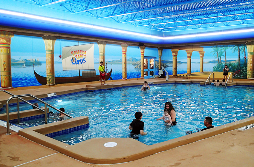 Sahara Sams NJ water park anniversary