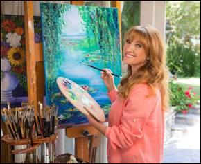 Jane Seymour Art exhibition Stone Harbor New Jersey