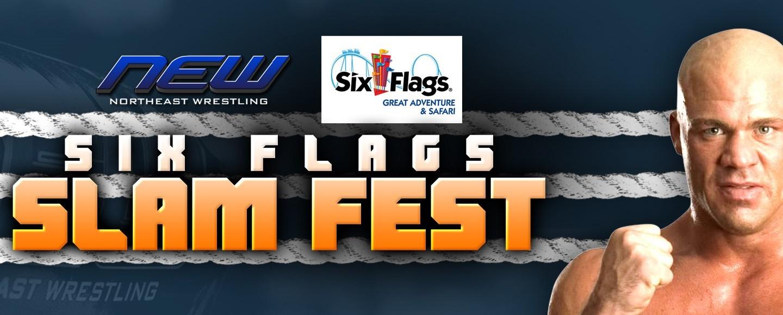Six Flags NJ Slam Fest WWE