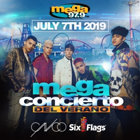 CNCO Concert Six Flags Great Adventure