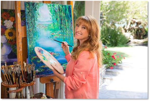 Jane Seymour Art Exhibition Stone Harbor NJ