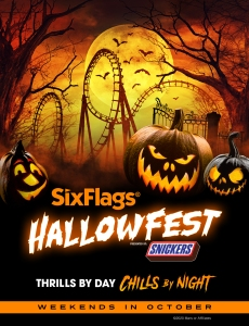 Six Flags Hallowfest Halloween Festival